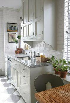 Segunda-feira Amor Cozinha   Conteúdo em um Cottage