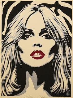 View Debbie Harry Zebra Skin by Shepard Fairey on artnet. Browse more artworks Shepard Fairey from StolenSpace Gallery. Andy Warhol, John Edwards, Pop Art, Jack Kilmer, Shepard Fairey Art, Shepard Fairy, Art Du Monde, Print Release, Art En Ligne