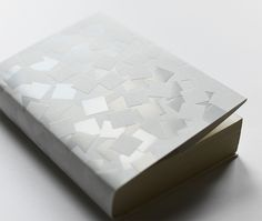 "visualgraphc: "" Kami Fubuki Book Jacket by Misawa Design Institute "" Book Binding Design, Book Design, Corporate Invitation, Name Card Design, Print Finishes, Cool Books, Book Jacket, Catalog Design, Book Layout"