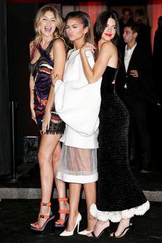 Thursday Inspo // 15 - Bella to Bella: Gigi Hadid, Kendall Jenner, Models, Versace