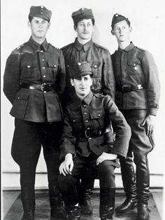 The Jewish Blankett brothers, who all fought for Finland There may have been German troops in Finland and the German command and Gestapo in ...