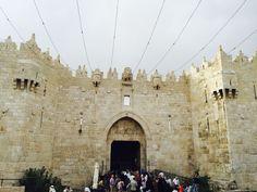 باب العامود # القدس