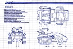 Snow Cat blueprints