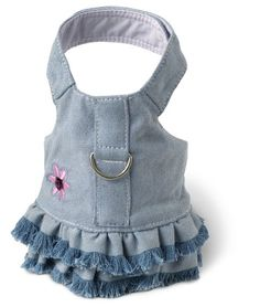 $18.69-$18.69 Doggles Dog Harness Dress with Jean Fringe, Blue, XX Small - The perfect complement to your best friends wardrobe!    There's nothing like a casual jean dress for any occasion. Our jean harness dresses are made from durable and breathable denim. Hand pulled fringe on the dresses add the perfect touch http://www.amazon.com/dp/B000PWBUB6/?tag=pin2pet-20
