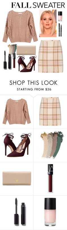 """""""Untitled #1433"""" by vincentvangoth ❤ liked on Polyvore featuring Ryan Roche, MARC CAIN, Massimo Matteo, Gucci, Prada, NARS Cosmetics and Chanel"""