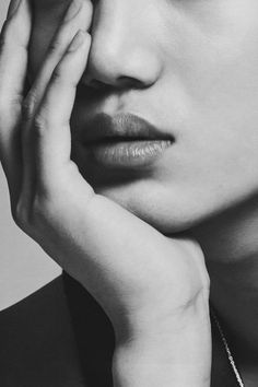 Need these full lips Kai EXO Chanyeol, Exo Kai, Hot Korean Guys, Exo Korean, 3a Hair, Ok Taecyeon, Kim Minseok, Kaisoo, White Aesthetic