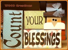 WOOD Creations: Thanksgiving Crafts Are Here!