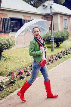 Qué look ponerte para un día de lluvia + consejos