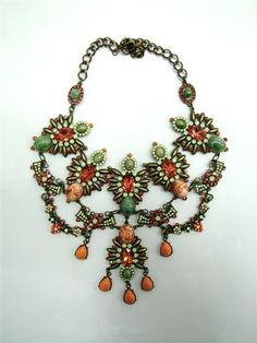 crystals necklace Andrea Mader