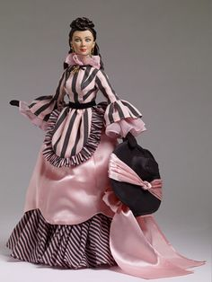 "TONNER-GONE WITH THE WIND-""PEACHTREE STREET STROLL""-SCARLETT O'HARA #TONNER"
