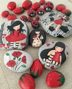 güünayydınnnbol uğurlukırmızı günler❤️ #taşboyama#stonepainting#rockpainting#kirmizi#red#vsco#instaturkey#instaart#instaartist #instapaint#vscocam#10marifet#art#artwork #creative#dekor#boyama#painting#instalike #instamood#gorjuss#mmoddakk#made_by_cbk#fabby_handmade#handmade#etsy #mutluyumcunku #gunaydin#goodmorning#mmoddakk