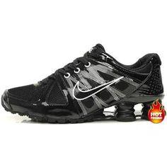 Mens Nike Shox Agent Black