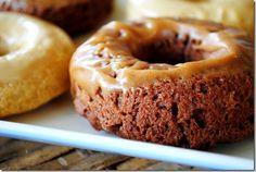 Chocolate Peanut Butter Doughnuts