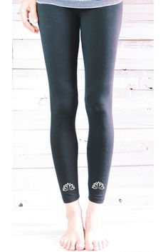 6cee3a47e4 Lyra Leggings: NEW COLORS Organic Cotton/Soy Yoga Pants. Sacred ...