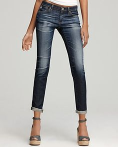 AG Adriano Goldschmied Jeans - The Stilt Cigarette Leg Jeans in 7 Years Dwight Wash | Bloomingdale's