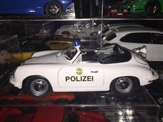 A personal favorite from my Etsy shop https://www.etsy.com/listing/271387474/porsche-356-convertible-polizei-police