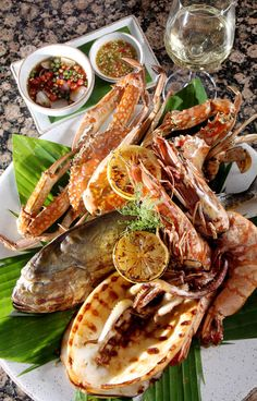 Seafood Platter at Kan Eang @ Pier in Phuket, Thailand! My friend's restaurant that is a must eat at restaurant when you visit this breathtaking place!