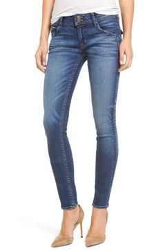 Hudson Collin Supermodel Skinny Jeans In Blue Denim Jeans, Skinny Jeans, Hudson Jeans, Jeans Style, Supermodels, Preppy, Perfect Fit, Nordstrom, Mens Fashion