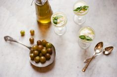 Basilcello on Food52 w/ house-infused basil vodka