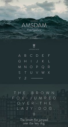 Free Amsdam Typeface Font