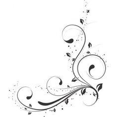 Risultati immagini per arabescos esquineros Stencil Patterns, Stencil Designs, Motif Arabesque, Cursive Alphabet, Wood Burning Patterns, Scroll Design, Border Design, Swirl Design, Doodle Art