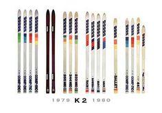 Ski Equipment, Logo Inspiration, Kayaking, Skiing, K2, Retro, Op Logo, Man Cave, Collections