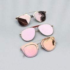 3e3881e62c From top to bottom  Morrocco. Rose Gold Mirrored SunglassesMirrored Aviator  SunglassesPink SunglassesRay ...