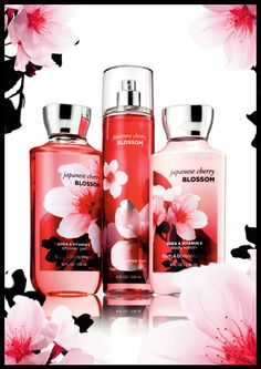 1-2-3 ... JCB! Introducing the #DailyTrio in America's #1 Fragrance Collection. There's no better way to wear it! #JapaneseCherryBlossom