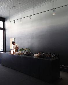 Restaurant interior design, cafe interior и fashion retail interior. Restaurant Interior Design, Retail Interior, Dark Interiors, Shop Interiors, Office Interiors, Cheap Wall Decor, Coffee Shop Design, Commercial Interiors, Minimal Design