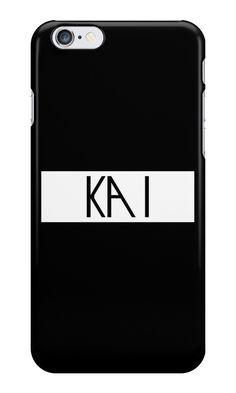 The Exo Luxion - KAI by drdv02 Exo Luxion, Ipad Case, Kai, Iphone Case, Samsung Galaxy, Pouch, Manualidades, Porches, Waist Pouch