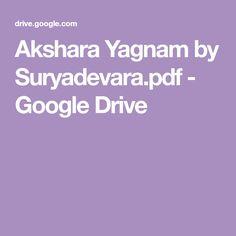 Akshara Yagnam by Suryadevara. Free Novels, Main Menu, Google Drive, Books To Read, Pdf, Telugu, Reading, Reading Books, Libros