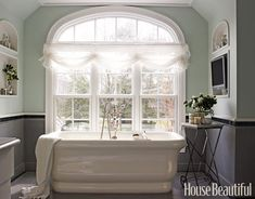 Designer Bathrooms and Pictures - Bathroom Decorating Ideas - House Beautiful paint colors
