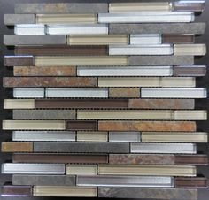 Glass Tile and Stone mosaics at factory direct sale prices! Fast shipping and the best price for any budget. Klassy Series AL2032