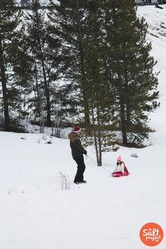 Our Favorite Sledding Hill   Tibble Fork   The Salt Project   Things to do in Utah with kids