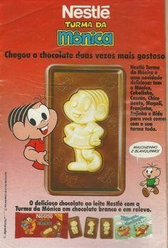Chocolate Turma da Mônica (1993). Unanimidade na lista dos nostálgicos de plantão!