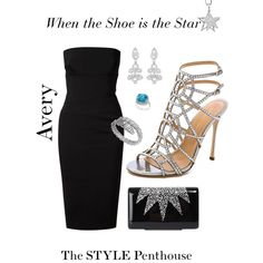 A fashion look from February 2015 featuring Victoria Beckham dresses, Sergio Rossi sandals and Wilbur & Gussie clutches. Browse and shop related looks.