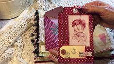 Valentine Junk Journal - TRD/ATD Jan DT Project (Sold)