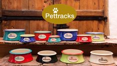 Many leave traces but we leave impressions! We create handcrafted ceramic pet bowls with your beloved original paw print in several colors and sizes. Cat Supplies, Pet Bowls, Coffee Cans, Ceramics, Pets, Create, Colors, Ceramica, Pottery
