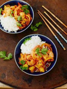 Sweet & Sour Prawns   Seafood Recipes   Jamie Oliver Recipes