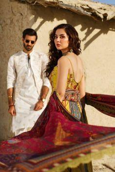 Pakistani Fashion Party Wear, Pakistani Dresses, Rang Rasiya, Hania Amir, Fashion Brand, Fashion Design, Pakistani Actress, Celebrity Outfits, Wedding Couples