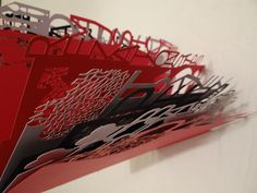 """One of my final pieces inspired by, Taste Inc, """"Forest of Typographic Design: Eco Message"""""""
