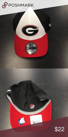 3ad00e578 Georgia Bulldogs New Era M L Flex-Fit Hat Georgia Bulldogs New Era Flex-Fit  Hat. Save money by bundling with other items in my store.