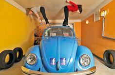 Das upside down Haus von Terfen