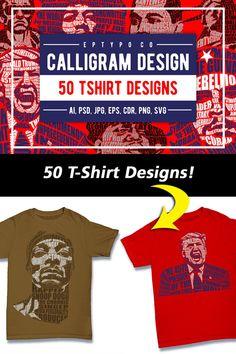 Typography Ads, T Shirt Design Template, Vector Illustrations, Vector Graphics, Vector Design, Cartoon Characters, Design Bundles, Funny Tshirts, Pop Culture