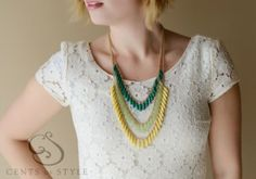 #Anthropologie inspired statement #necklace for $9.95 shipped!
