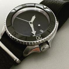 #mywatch #seikomod #skx007 Seiko Skx007 Mod, Seiko Mod, Fine Watches, Watches For Men, Seiko Diver, Seiko Watches, Unisex, Pocket Watches, Accessories