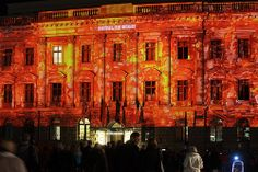 Hotel de Rome @ Berlin FESTIVAL OF LIGHTS 2010. 3D Videomapping by Panirama & Friends (c) Festival of Lights / Frank Herrmann #FestivalofLights #Berlin #HoteldeRome #3DVideoMapping