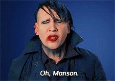 oh, manson The Nobodies, He Makes Me Happy, Marilyn Manson, Johnny Depp, Superstar, Badass, Bubble, Daddy, Alice