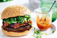 Get your taste buds ready for these mouth-watering satay tofu burgers inspired with Asian flavours.