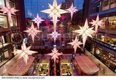 shopping center atrium christmas - Google Search